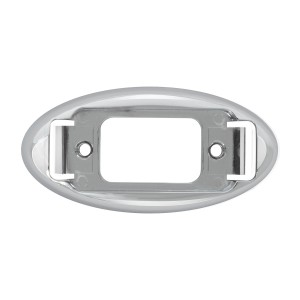 Bezel for Small Rectangular Marker Lights