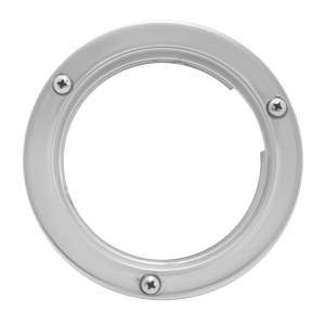 Stainless Steel Flange Mount Bezel II for 4″ Round Light