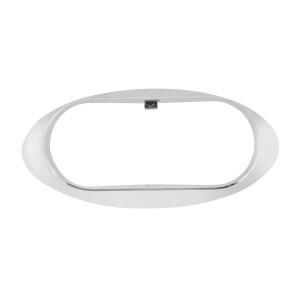 Bezel for Small Oval LED Marker Light