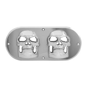 Skull Bezel for Large Oval Light
