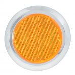 2-1/8″ Round Stick-On Reflector w/ Chrome Trim