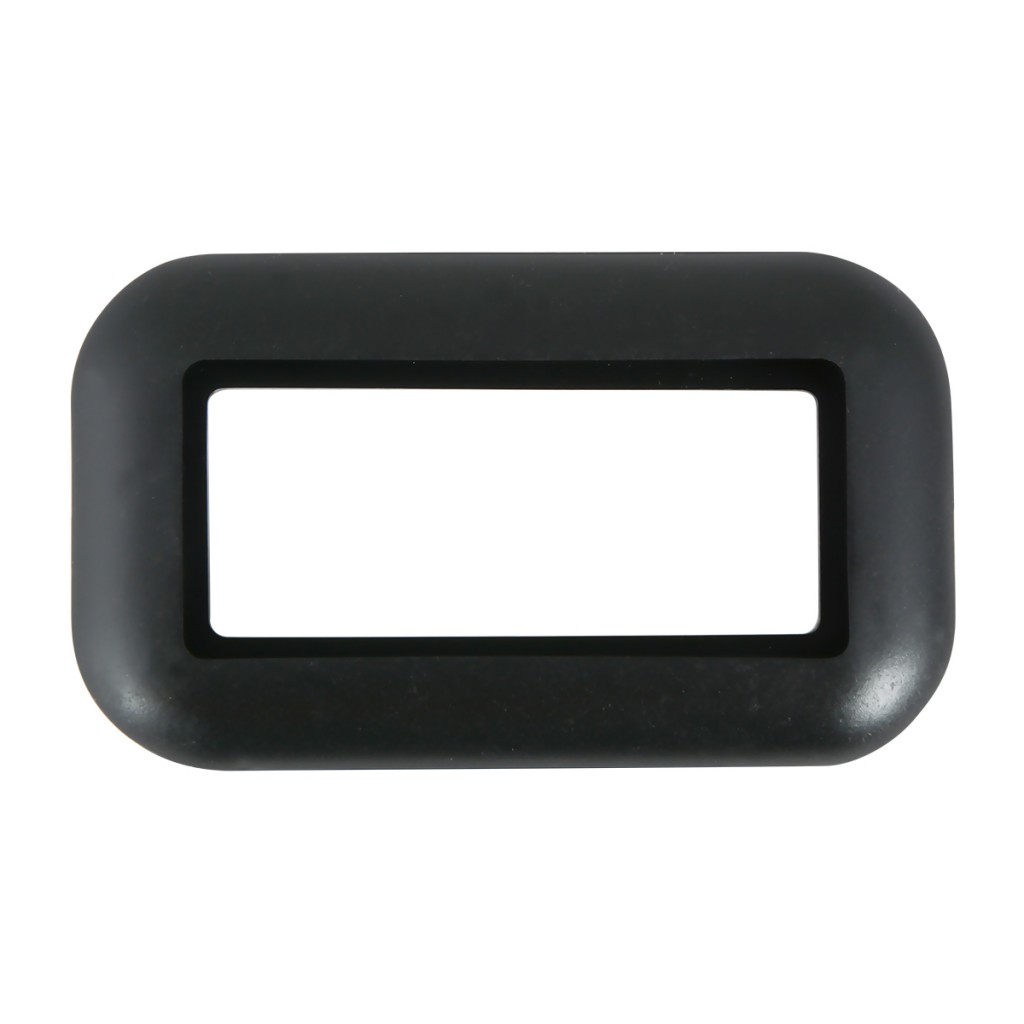 Grommet For Small Rectangular Light In Open Back Style