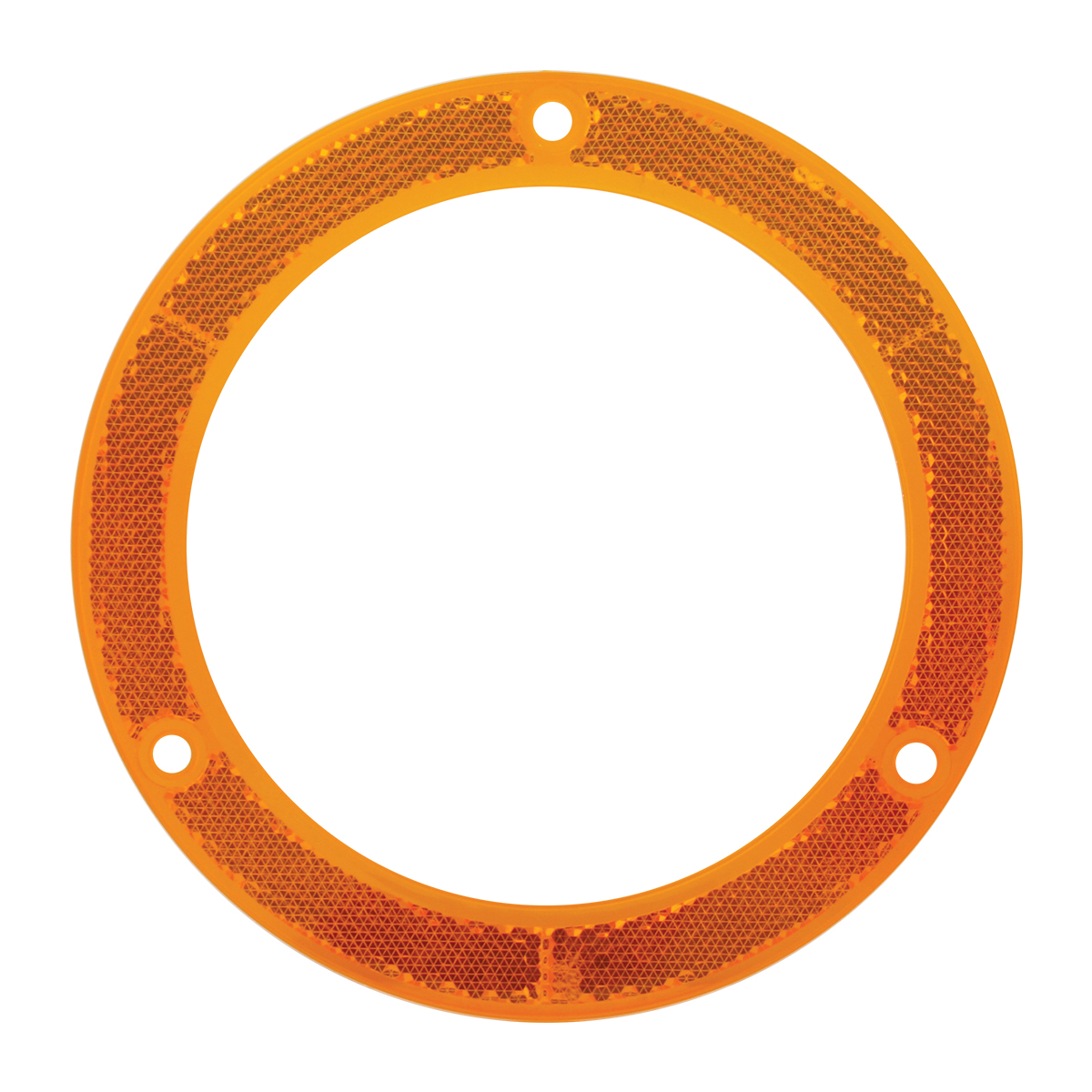 "81630 Amber Reflector Ring for 4"" Round Light"