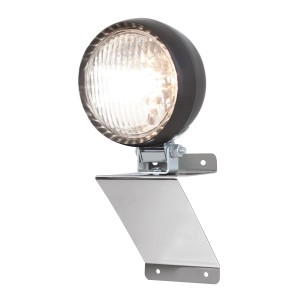 """Small """"Z"""" Shaped Light Bracket Kit with 4 ½"""" Tractor Utility Light"""