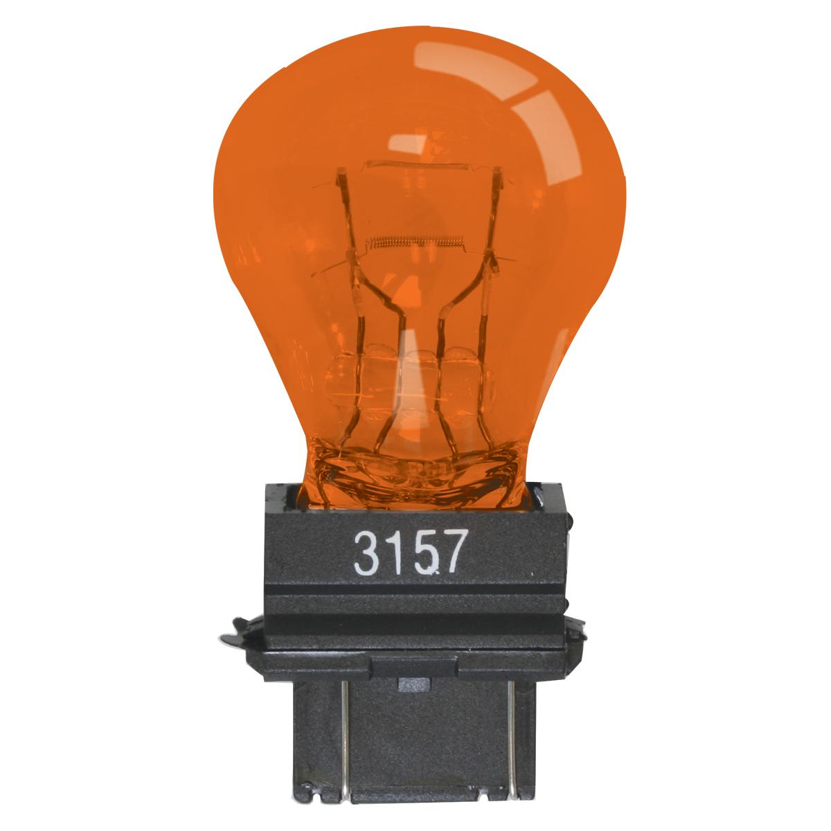 #83970 Miniature Replacement #3157 Amber Light Bulb