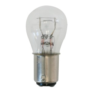 Extra Bright Clear Glass Dual Function Light Bulb