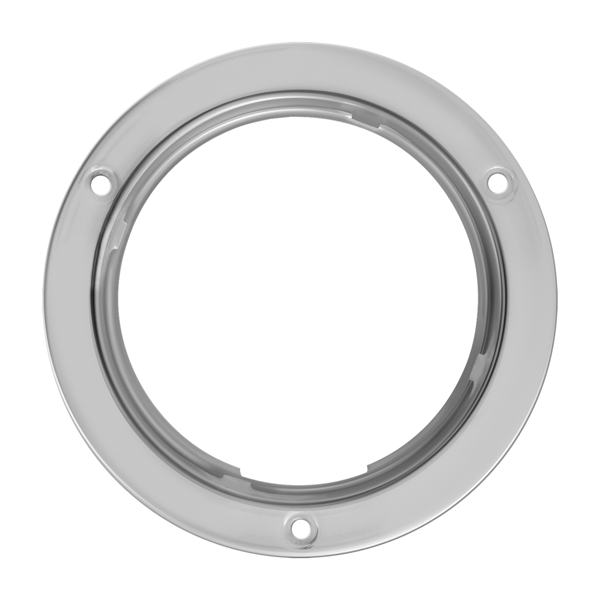 Stainless Steel Flange Mount Bezel For 4 Quot Round Light