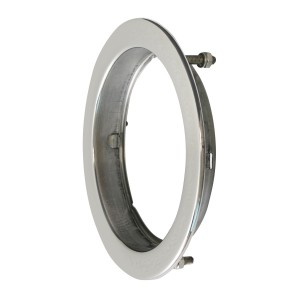 Flange Mount Bezel with Hidden Studs for 4″ Round Light