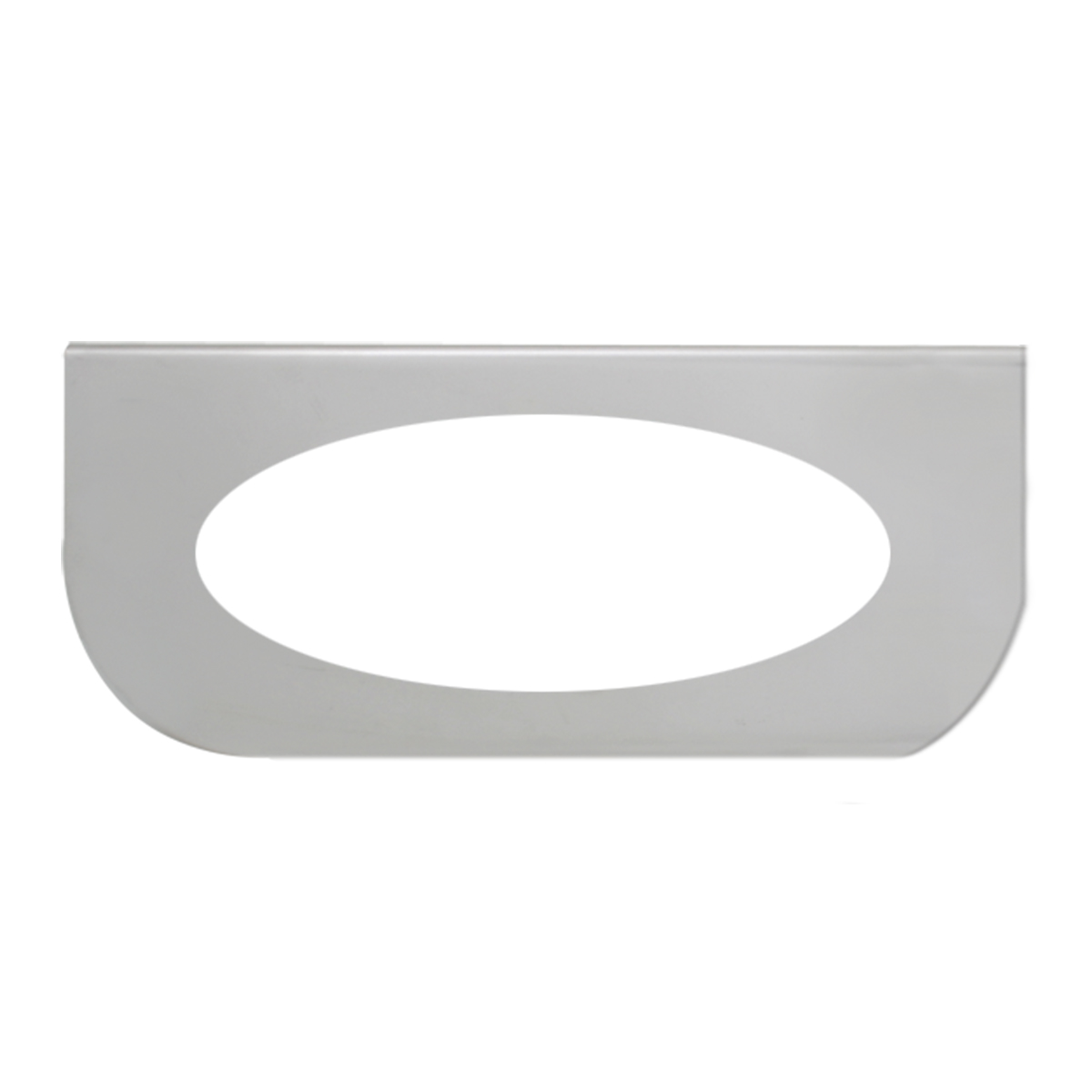 "#89029 Single Stainless Steel ""L"" Shape Light Bracket Only"