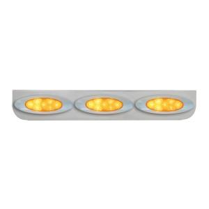 """Chrome  """"L"""" Shape Light Bracket for Plug-In Y2K Spyder LED Marker Lights"""
