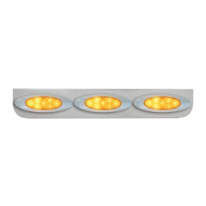 "Stainless Steel ""L"" Shape Light Bracket for Plug-In Y2K Spyder LED Marker Lights"