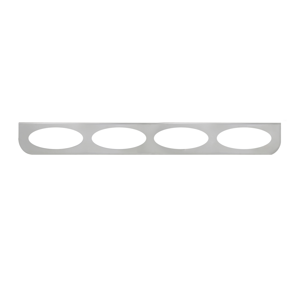 "#89089 Quadruple Stainless Steel ""L"" Shape Light Bracket Only"