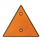6″ Triangle Warning Reflector w/ 2 Mounting Holes