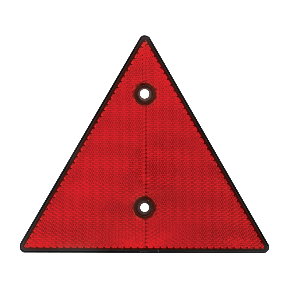 6 Triangle Warning Reflector W 2 Mounting Holes Grand