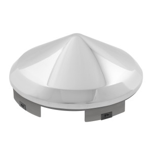 Universal Front Hub Cap in Cone Shape