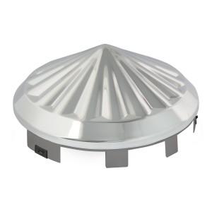 Universal Front Hub Cap in Pinwheel Shape