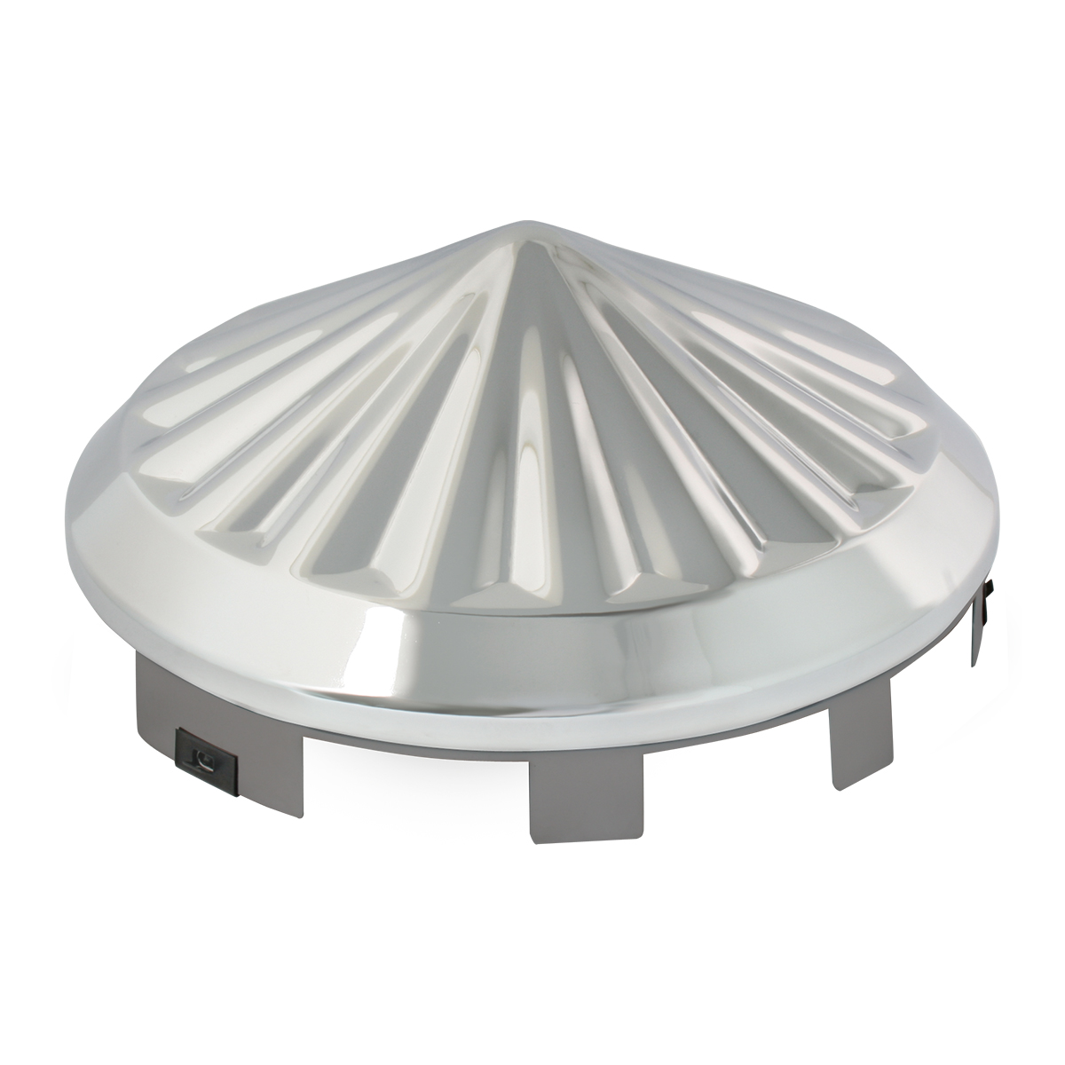10753/10754 Universal Front Hub Cap in Pin Wheel Shape