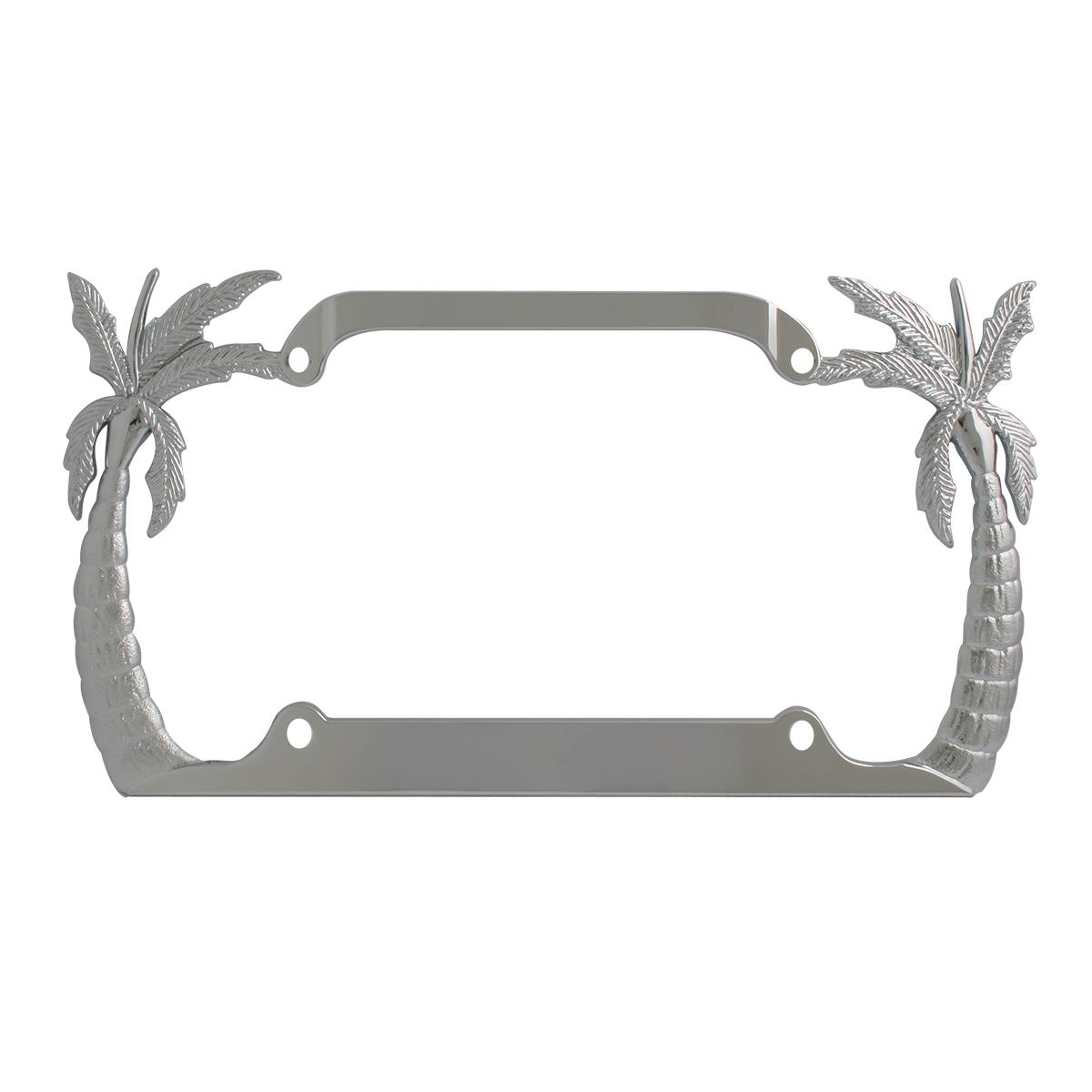 60250 Palm Tree License Plate Frame