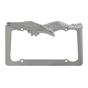 Flying Eagle License Plate Frame