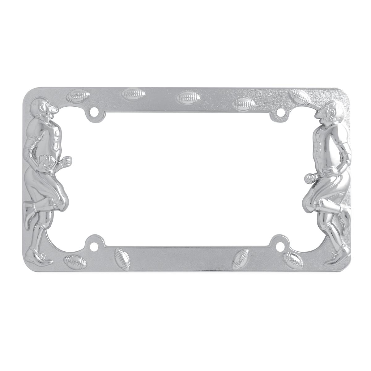 60460 Football Player License Plate Frame