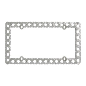 Twisted Rope License Plate Frame