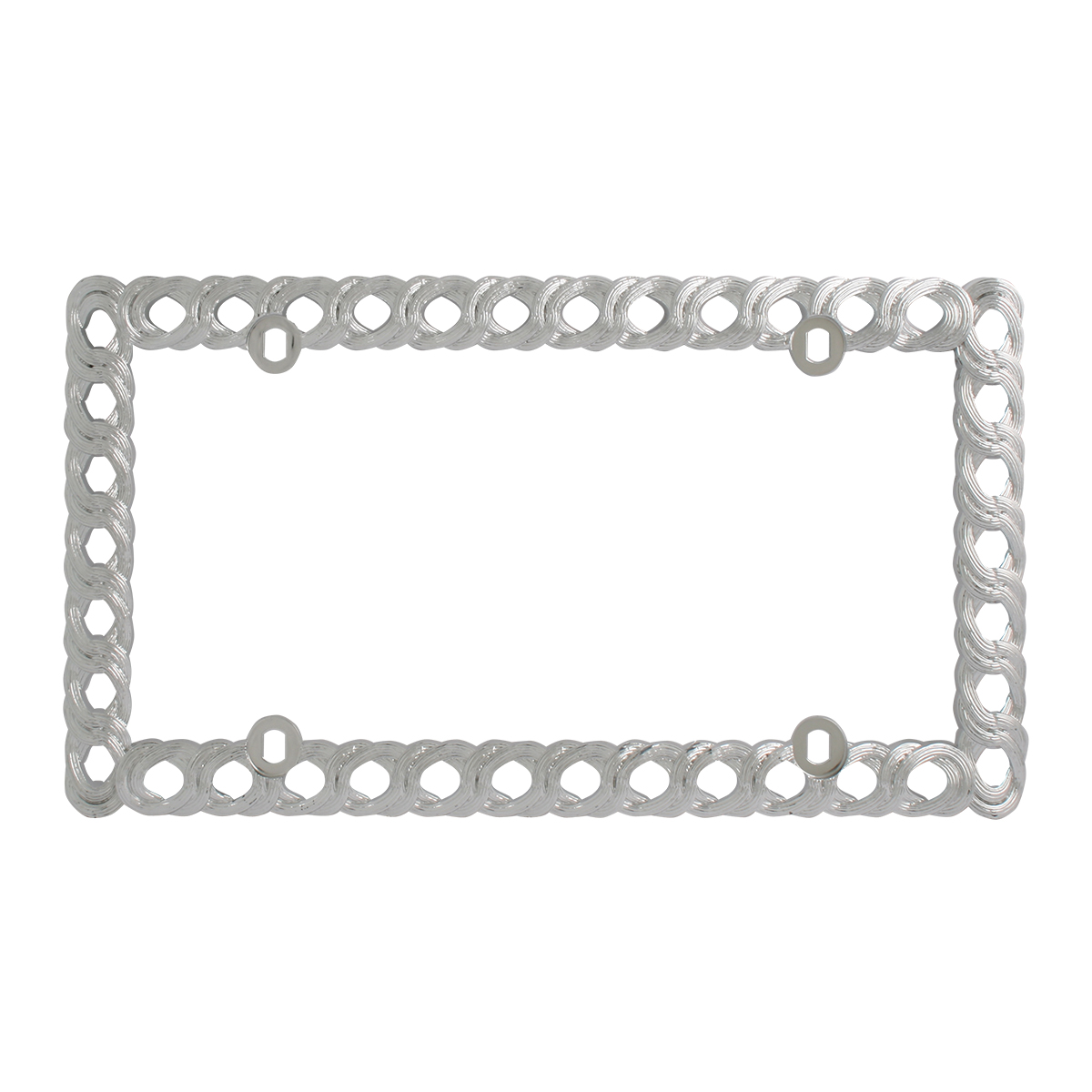 60490 Twisted Rope License Plate Frame