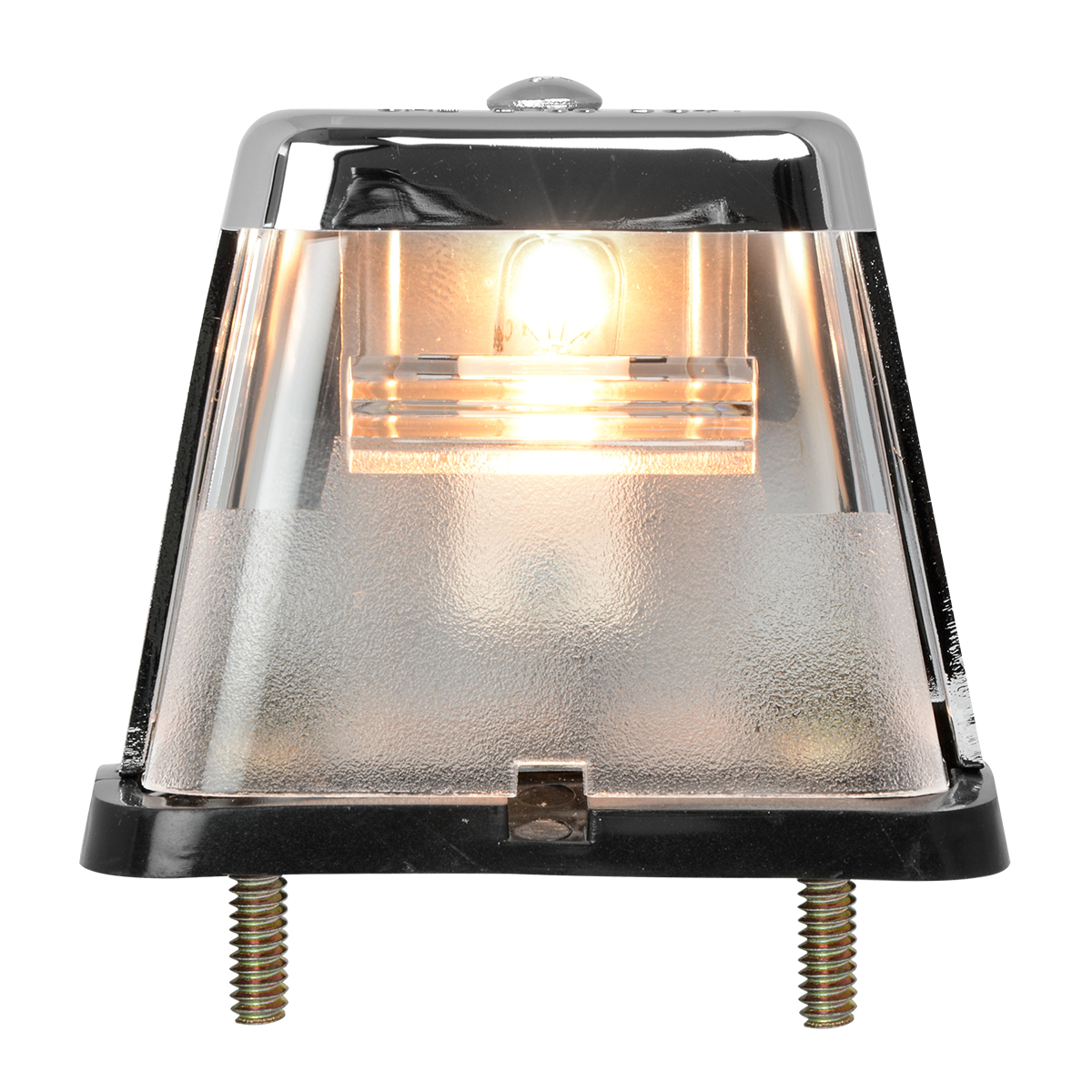 #80570 Stud Mount Square License Plate Light