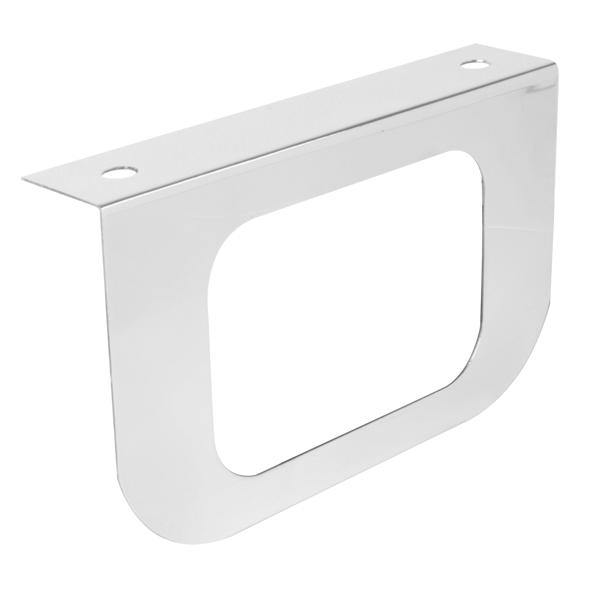 """#81412 Stainless Steel Single Light """"L"""" Shape Mounting Bracket Only"""