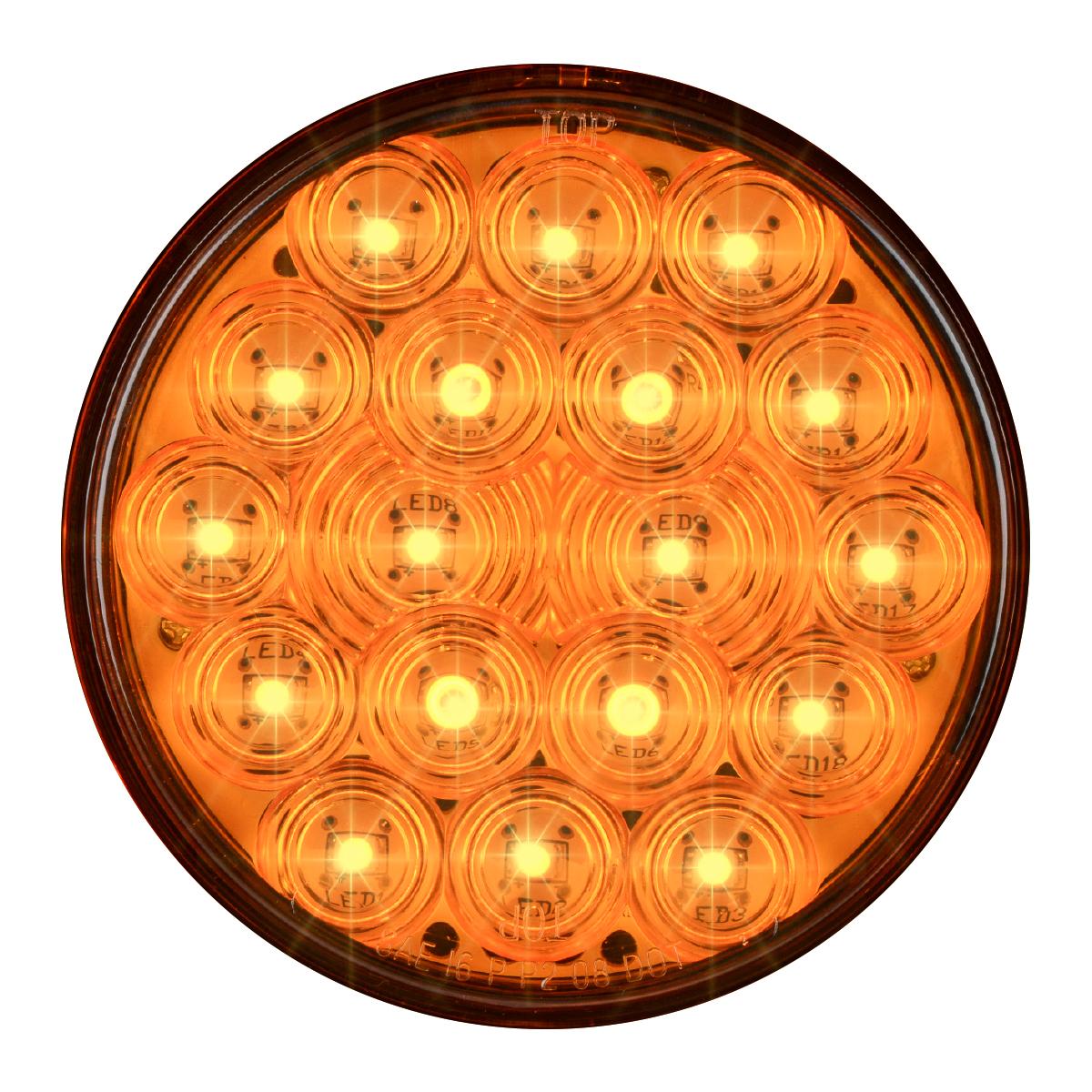 """76017 4"""" Fleet LED Light with 3-Prong Round Plug"""