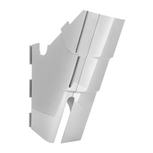 Bottom Foot Steering Column Cover for Kenworth W&T 2006 & Later