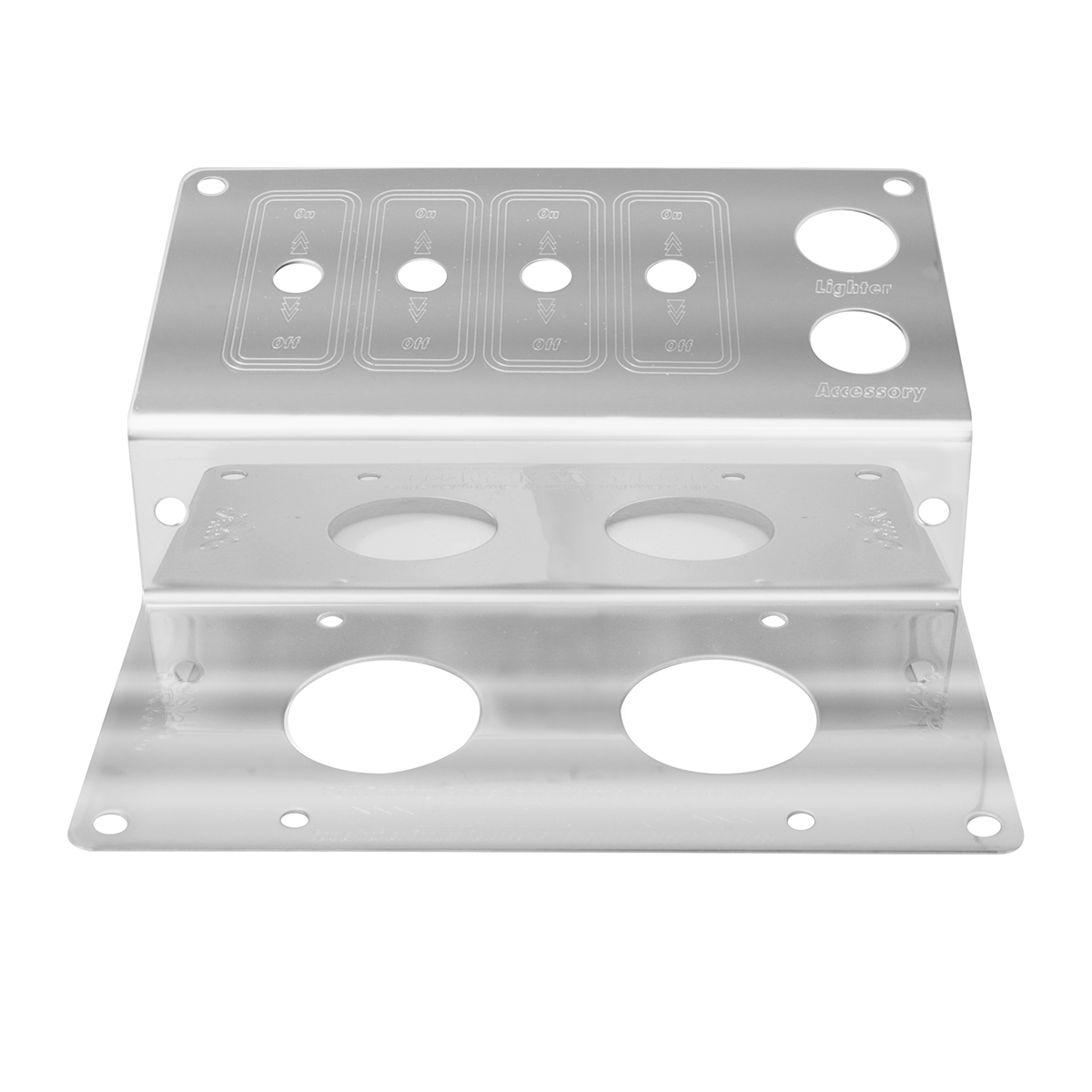 68331 Parking Brake Control Plate w/ 4 Switches for Peterbilt 379