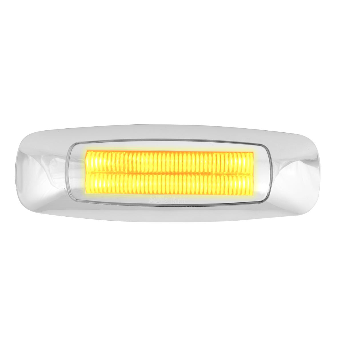 """5"""" Rectangular Amber/Clear LED Light"""
