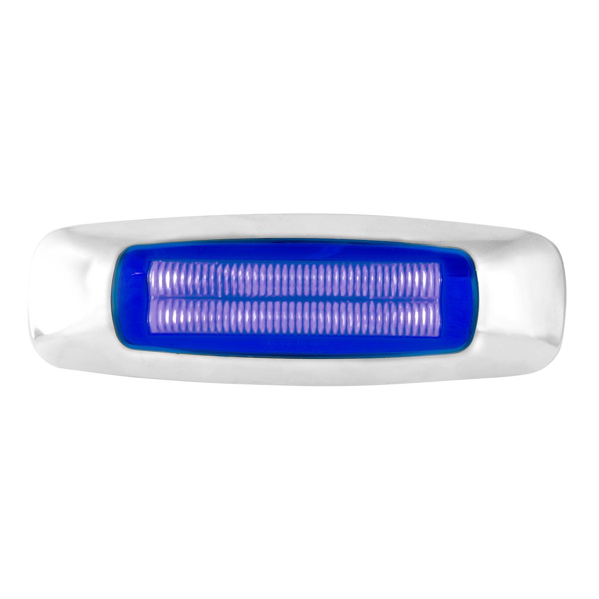 """5"""" Rectangular Blue/Blue LED Light"""