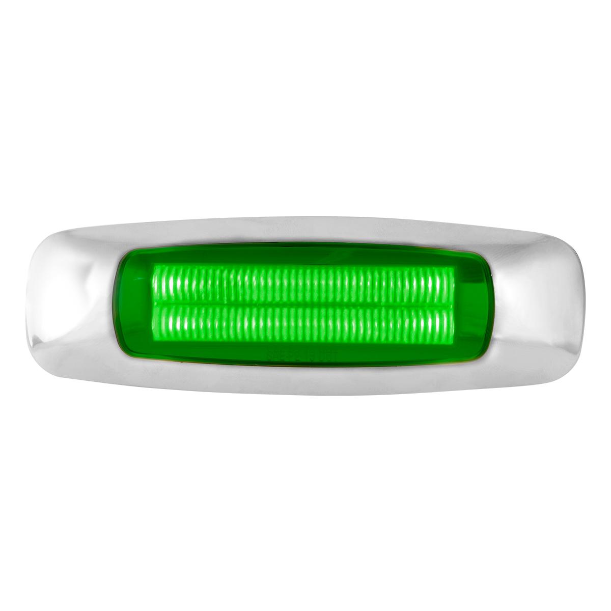 """5"""" Rectangular Green/Green LED Light"""