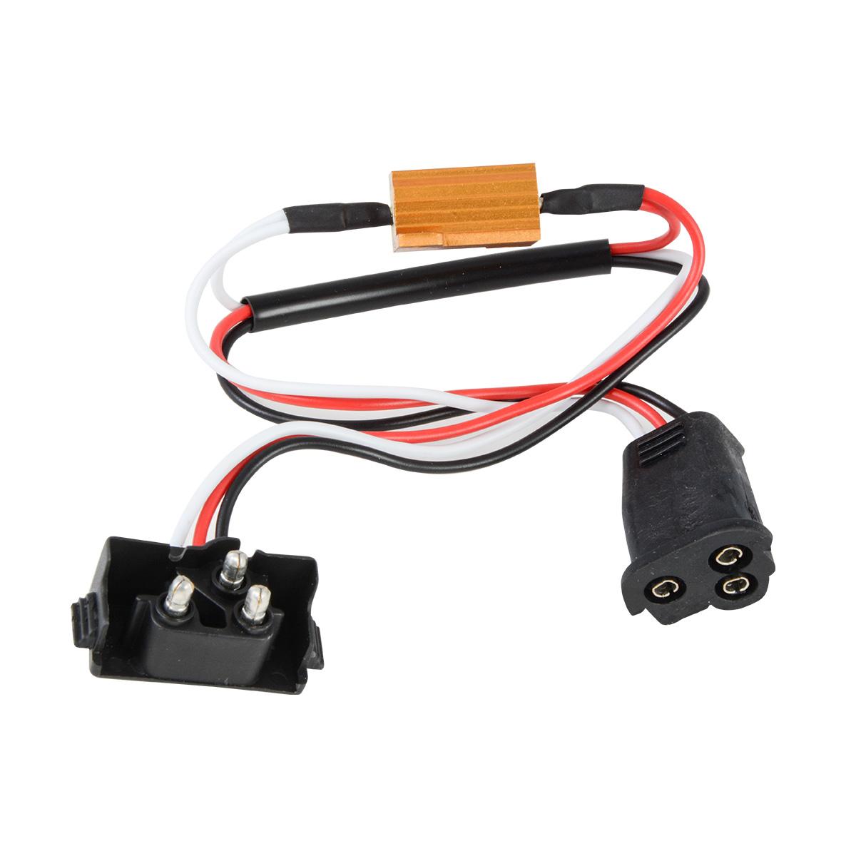 3 Prong LED Load Resistor Equalizer Plug