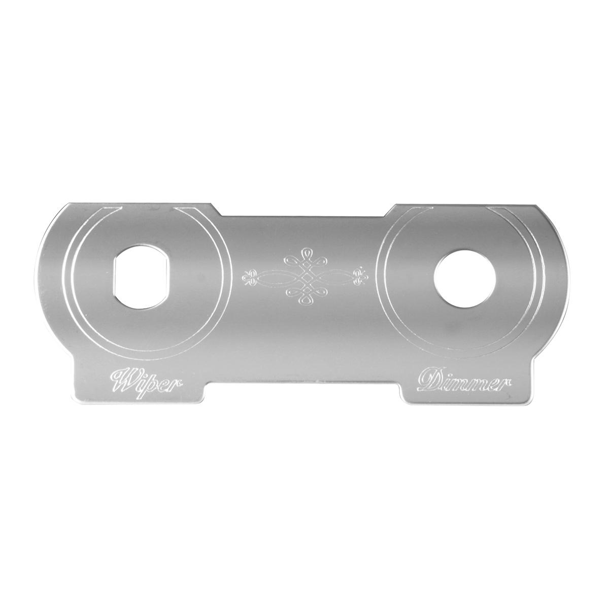 96041 Wiper/Dimmer Dash Plate for Peterbilt 379