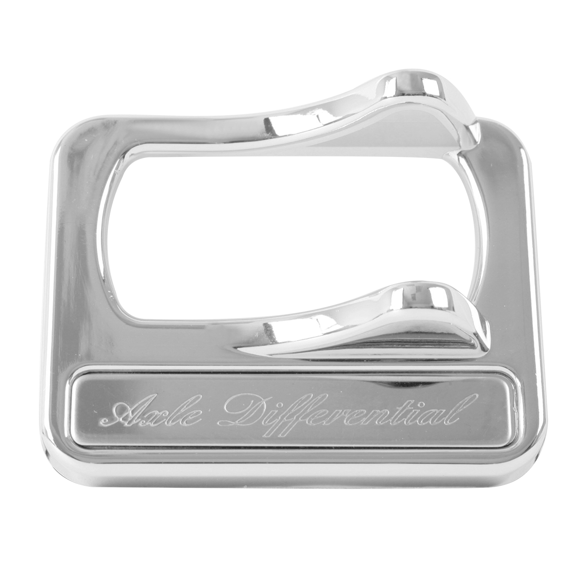 96130 Rocker Switch Cover w/ Stainless Steel Script Plate for Peterbilt 2005 & Later