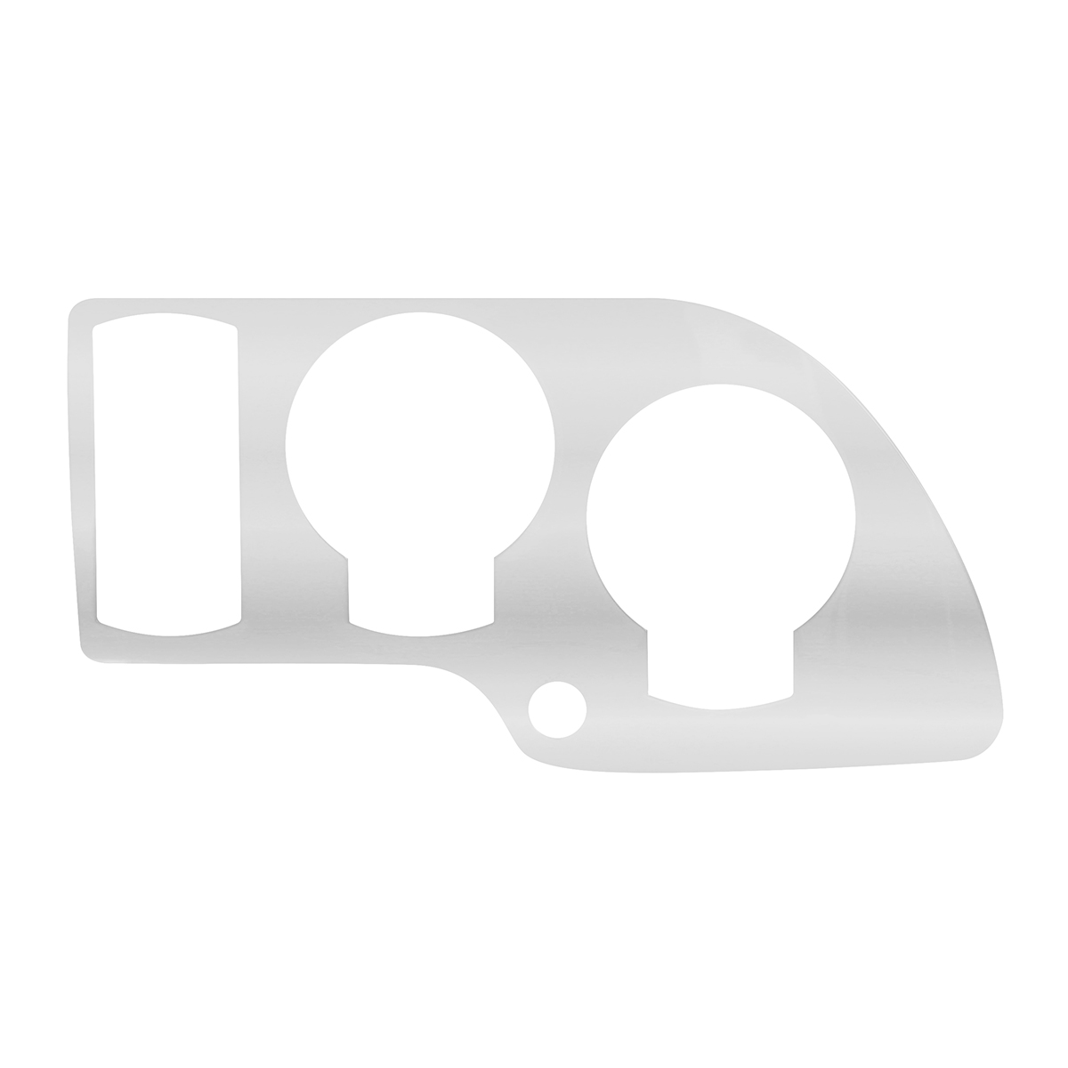 66980 Stainless Steel Lower Dash Panel for Kenworth T2000