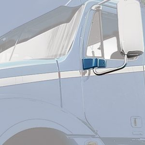 Chrome Plastic Exterior Door Mirror Bracket Cover for Freightliner