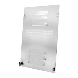 Stainless Steel Fuse Door Panel for Kenworth