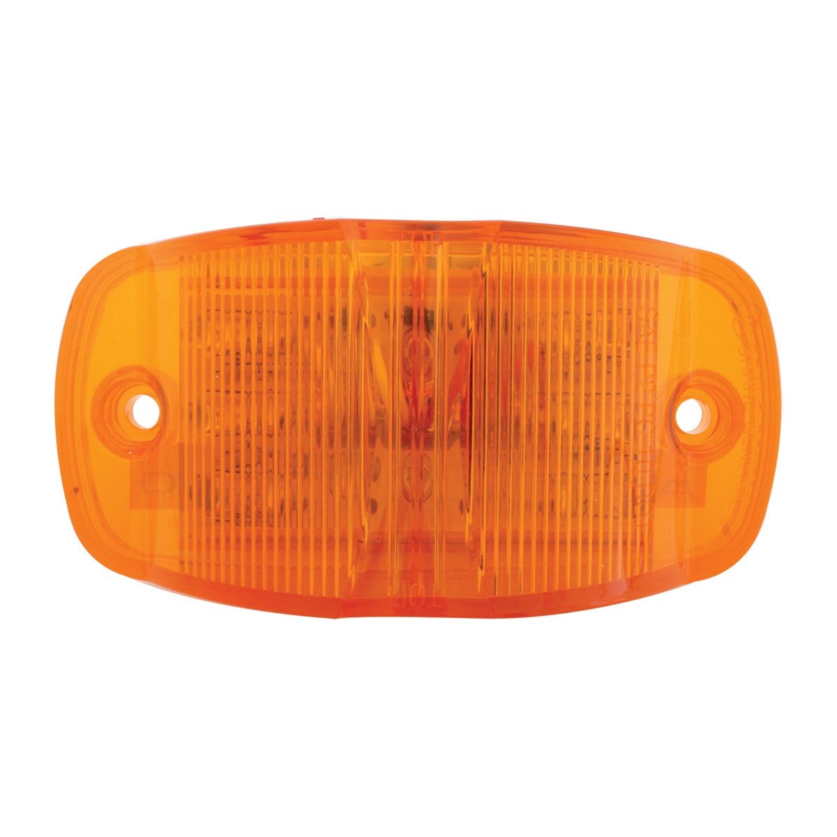 75160 Rectangular Camel Back Wide Angle Dual Function LED Light