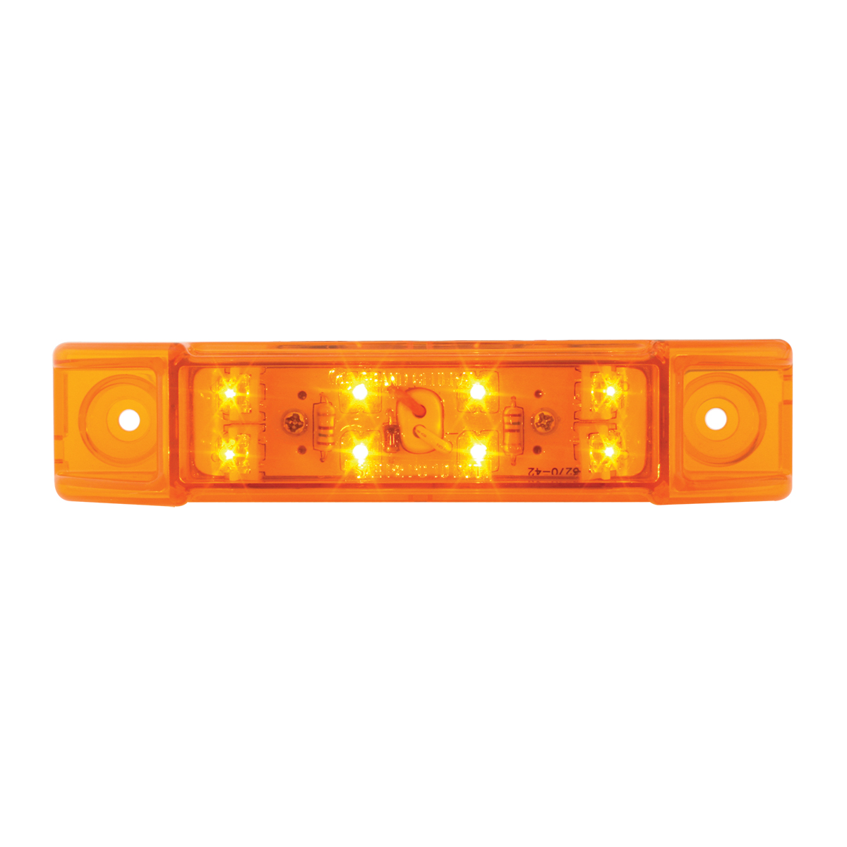 75170 Rectangular Wide Angle Dual Function LED Light