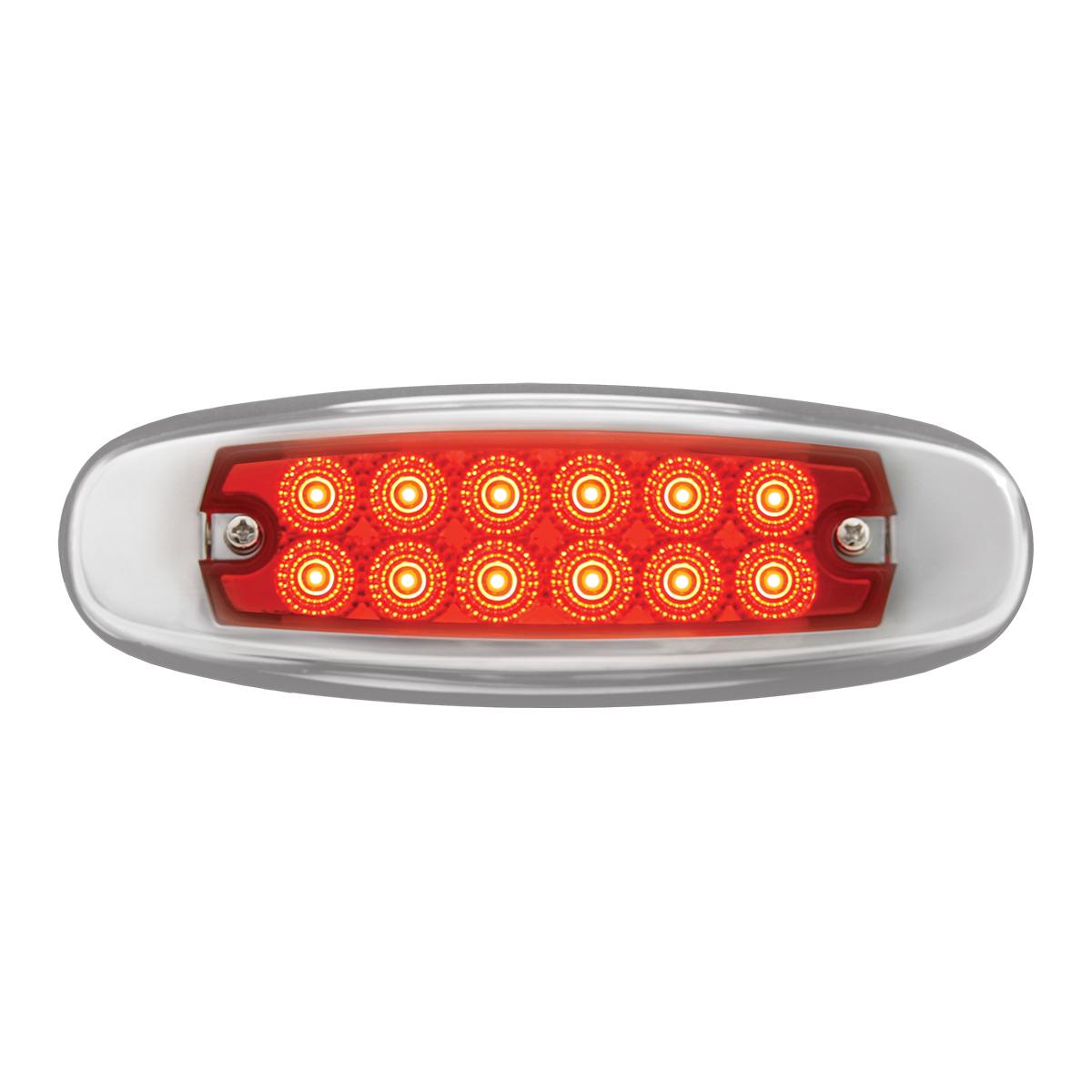 78567 Ultra Thin Spyder LED Marker Light w/ Stainless Steel Bezel