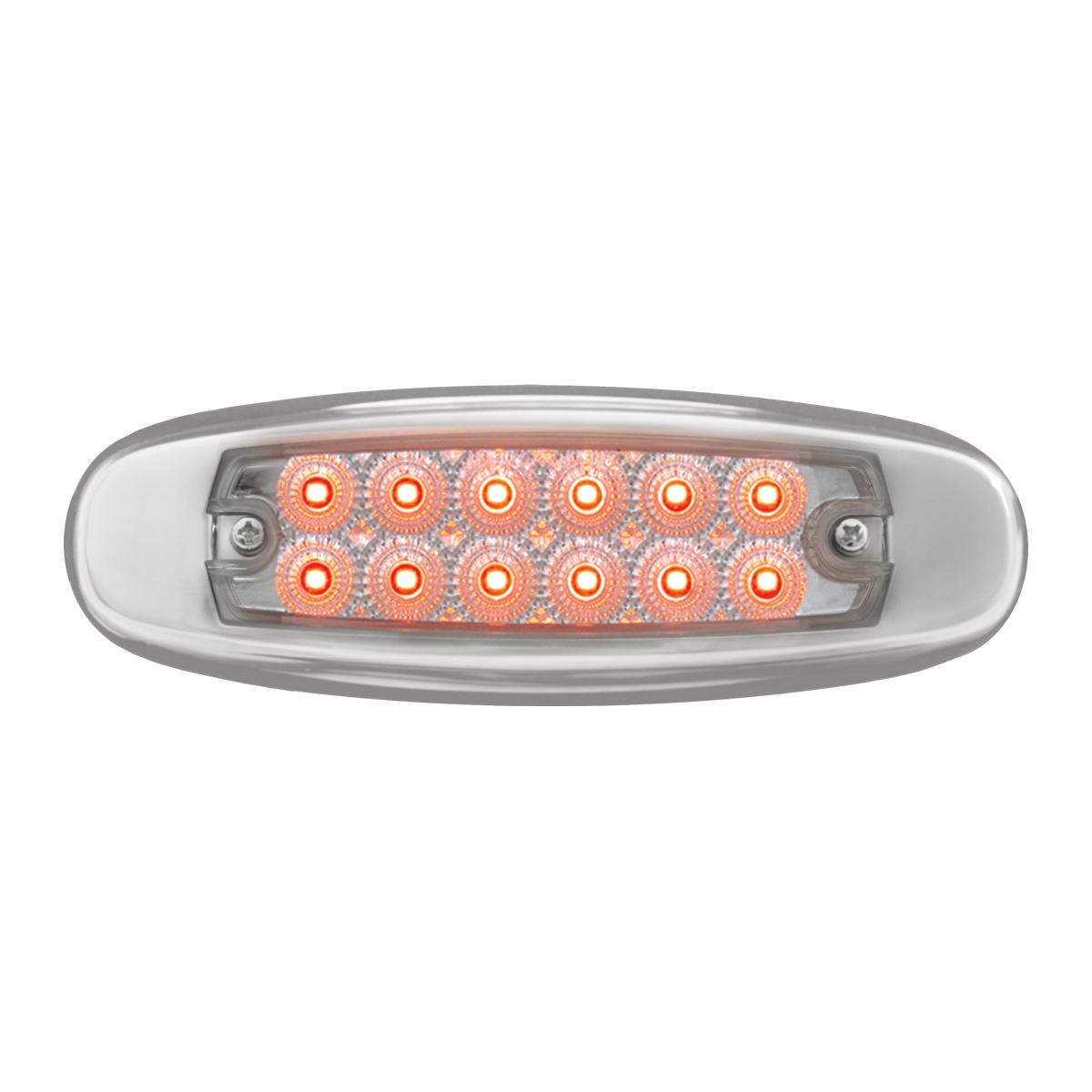78568 Ultra Thin Spyder LED Marker Light w/ Stainless Steel Bezel