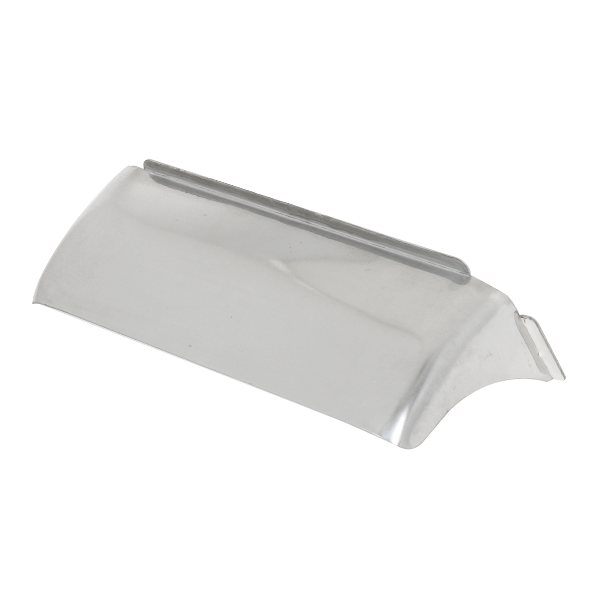 92491 Dual Rectangular Headlight Visor with Curve
