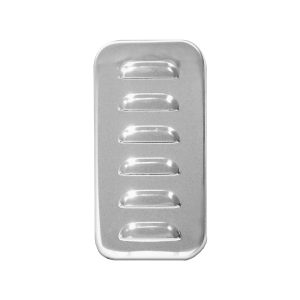 Stainless Steel Exterior Vent Door Cover w/ Louver for Freightliner