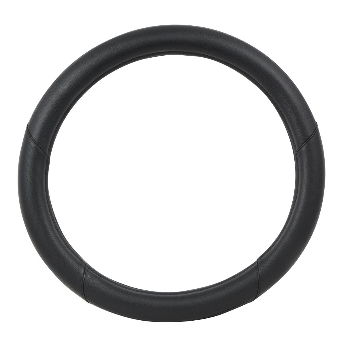 "54067 Heavy Duty 18"" Steering Wheel Cover in Deluxe Matte Carbon Fiber"