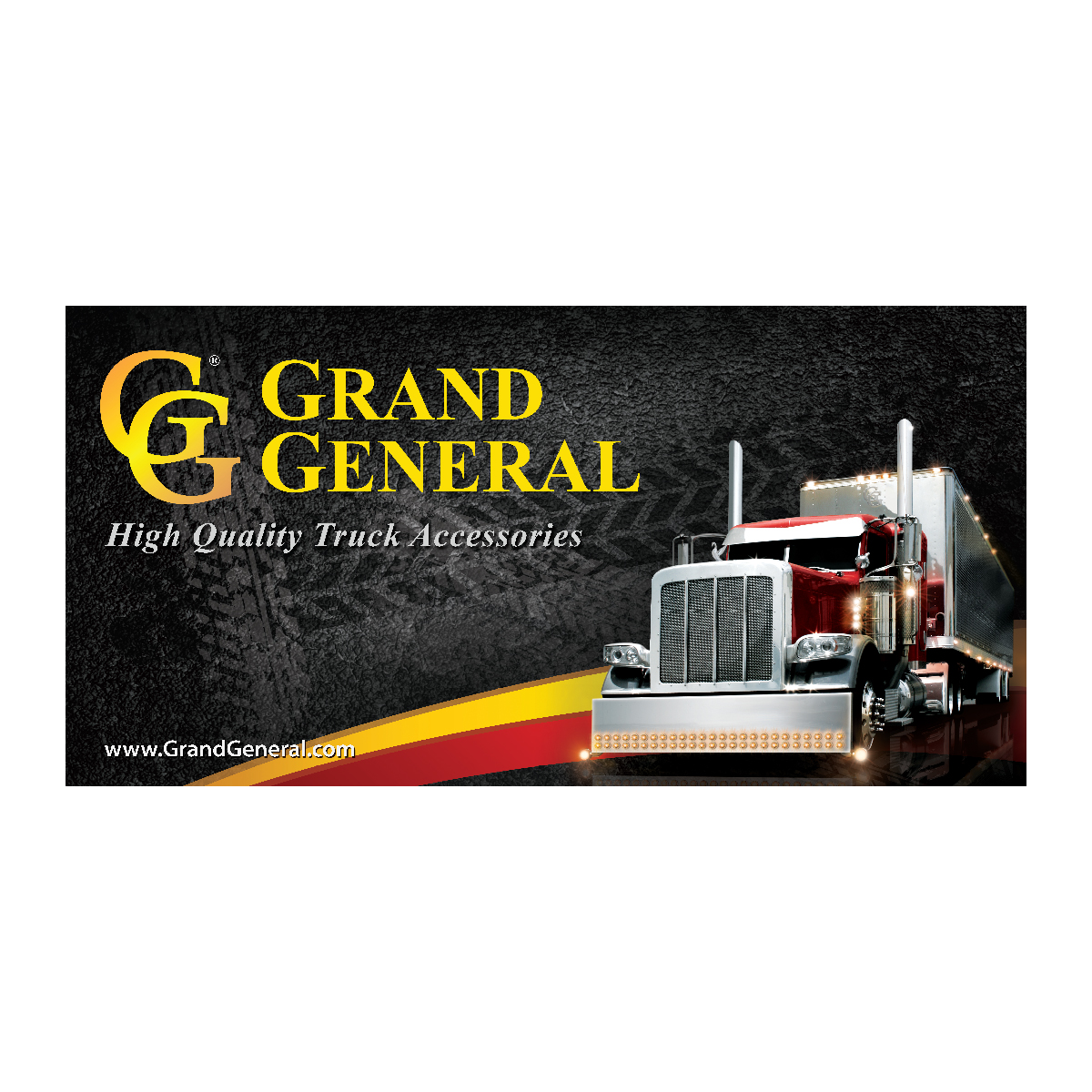 Grand General Banner 6' (W) x 3' (H)