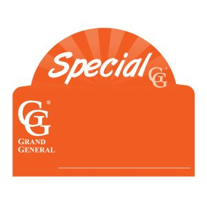 Front Window Tag for Special Product