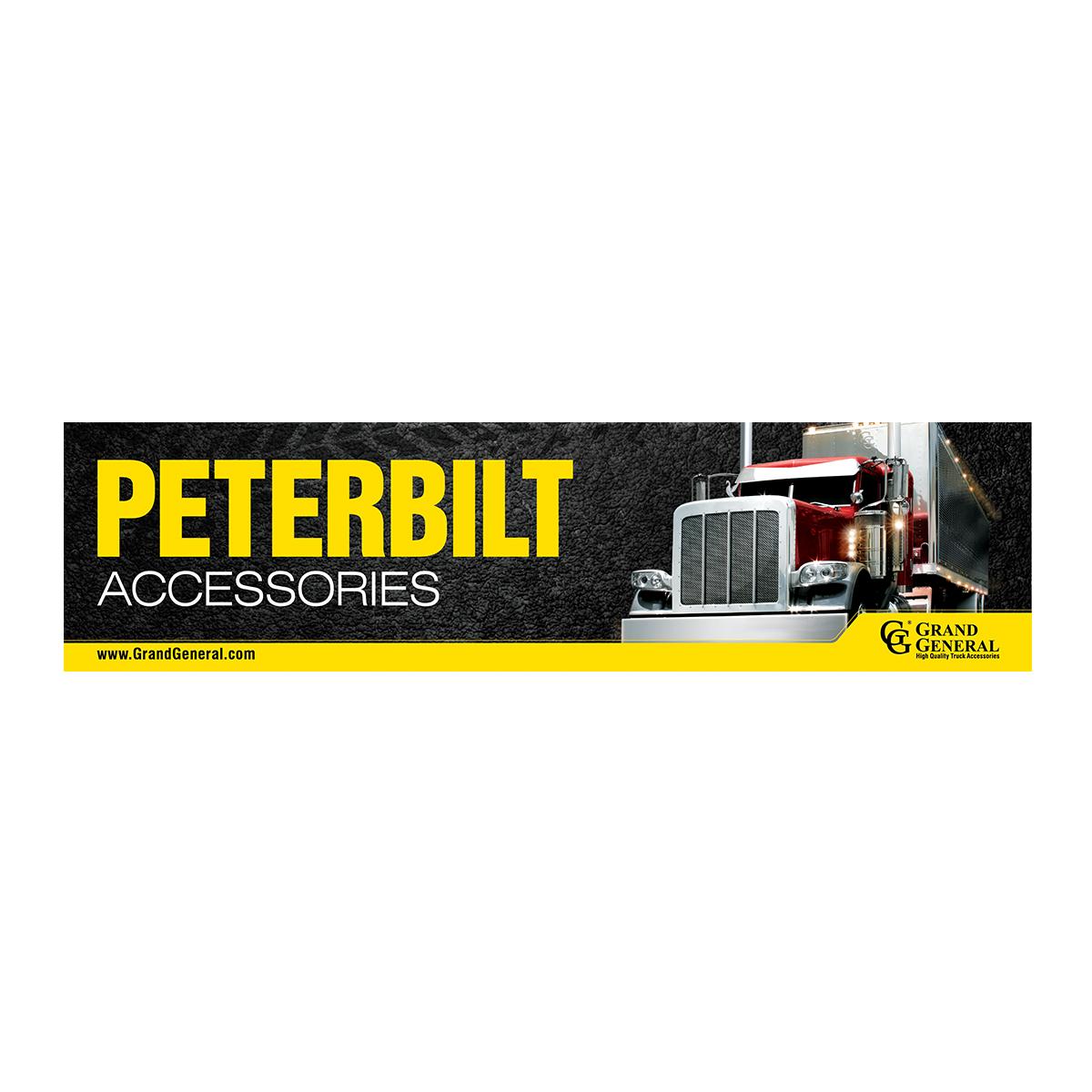Peterbilt Accessories Display Sign
